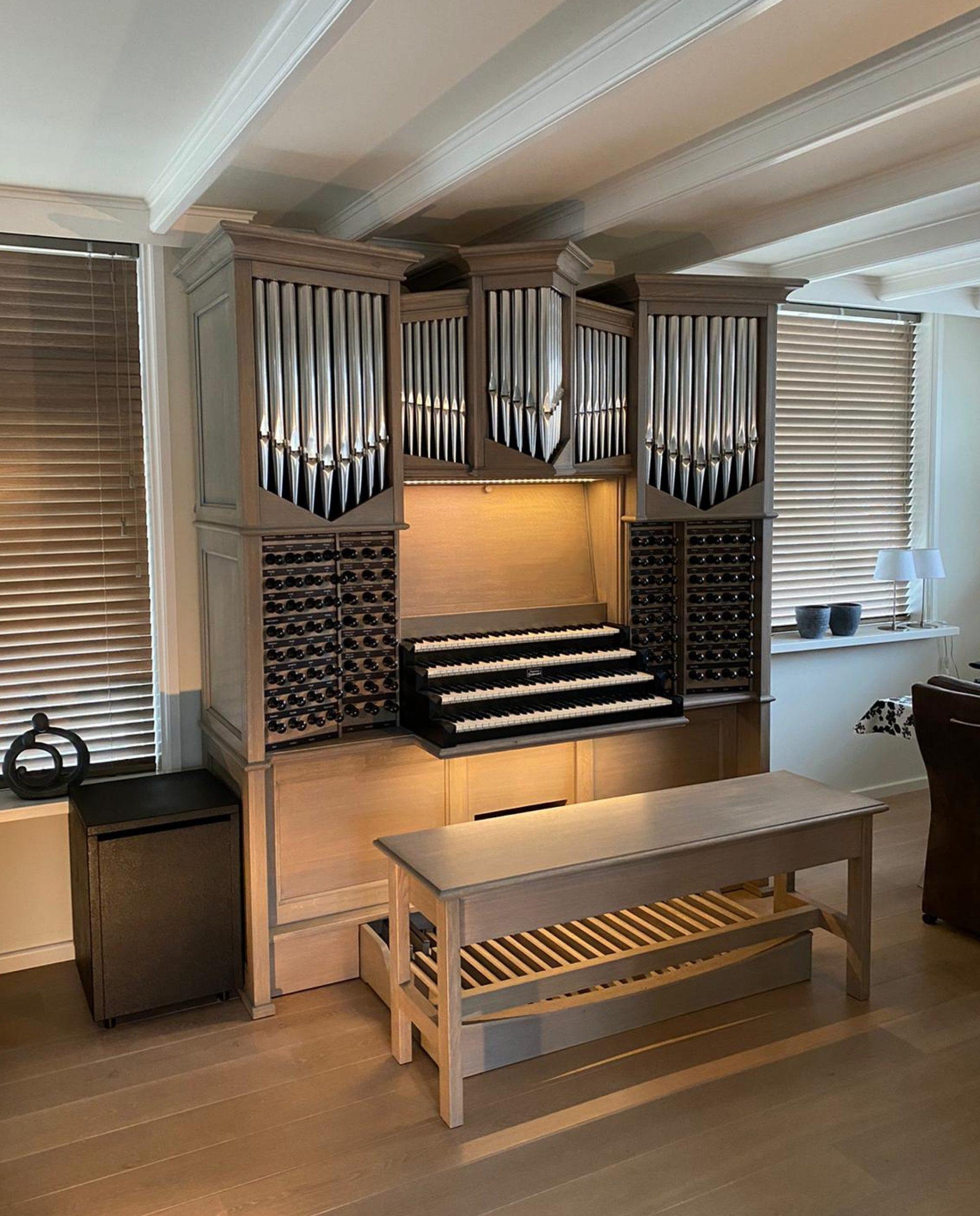 Hauptwerk Orgels | Orgelmakerij Goudzwaard